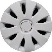 Автомобильные колпаки на колеса Модель: Аура Ринг Белый