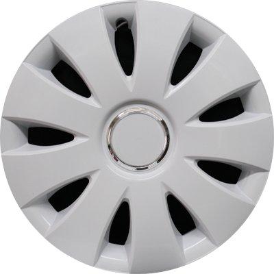 Автомобильные колпаки на колеса Модель: Аура Ринг Белый Бренд: Jestic