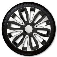 Автомобильные колпаки на колеса Модель: Авалон сильвер чёрный