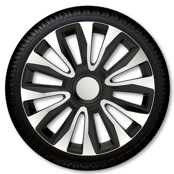 Автомобильные колпаки на колеса Модель: Авалон сильвер чёрный Бренд: