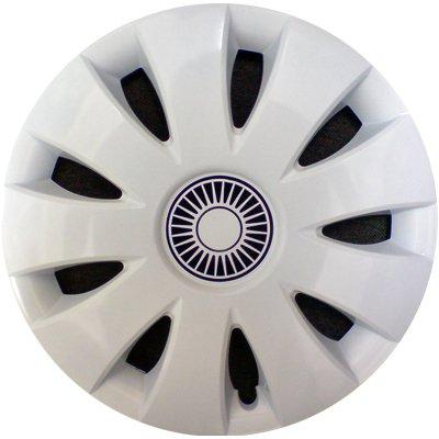 Автомобильные колпаки на колеса Модель: Аура Белый Бренд: Jestic