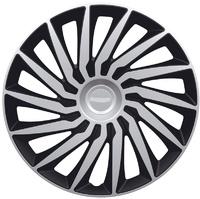 Автомобильные колпаки на колеса Модель: КЕНДО серебристо-черный
