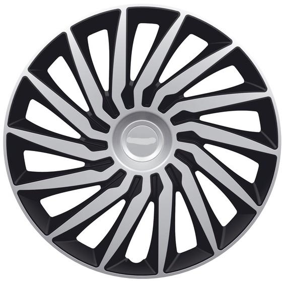 Автомобильные колпаки на колеса Модель: КЕНДО серебристо-черный Бренд: