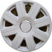 Автомобильные колпаки на колеса Модель: Космос Ринг Белый