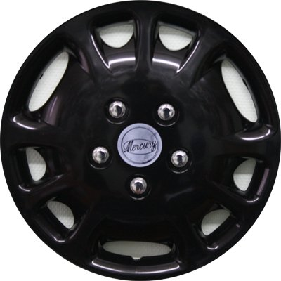 Автомобильные колпаки на колеса Модель: Меркурий Черный Бренд: