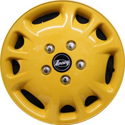 Автомобильные колпаки на колеса Модель: Меркурий Желтый Бренд: