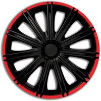 Автомобильные колпаки на колеса Модель: Неро Р красный обод