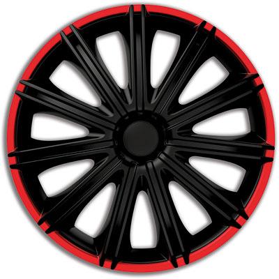 Автомобильные колпаки на колеса Модель: Неро Р красный обод Бренд: Gorecki
