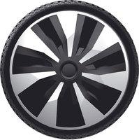 Автомобильные колпаки на колеса Модель: ОРИОН ВЭН  сильвер черный