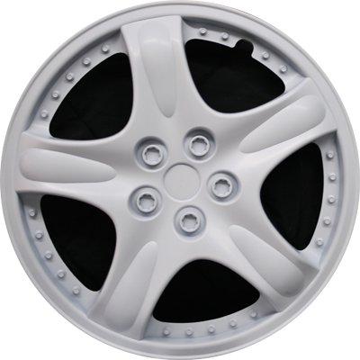 Автомобильные колпаки на колеса Модель: Плутон Белый Бренд: Jestic
