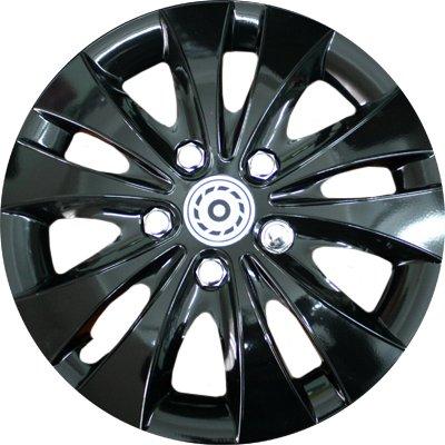 Автомобильные колпаки на колеса Модель: Шторм Черный Бренд: Jestic