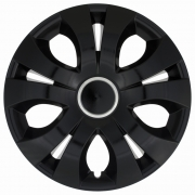 Автомобильные колпаки на колеса Модель: ТОП Ринг Черный